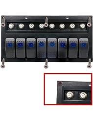 Rocker Interruptor, Hansee IP668pandilla impermeable coche Auto Barco marino LED Rocker Switch panel disyuntores