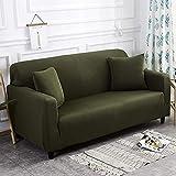MissHome Sofabezug 1/2/3/4 Sitzer Elastischer Sofaüberwurf Sofa Cover Stretch Hussen für Sofa/Couch Rutschfest Möbelschutz Sofahusse Couchbezug