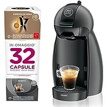 Nescafé Dolce Gusto - Máquina para café espresso y otras bebidas, pequeña con 32 Cápsulas