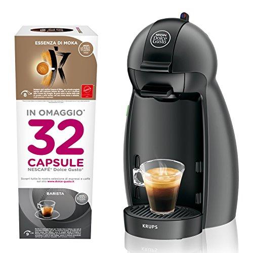Nescafé ́Dolce Gusto Piccolo avec 32capsules»in omaggio», machine à café expresso et autres boissons avec instructions (français non garanti)