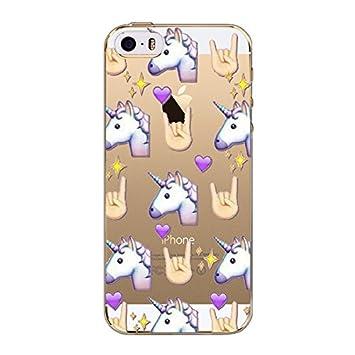 coque iphone 6 smiley licorne