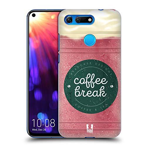 Head Case Designs Erdbeere Kaffeetassen Harte Rueckseiten Huelle kompatibel mit Huawei Honor View 20 / V20