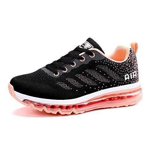 Monrinda Womens Running Shoes air Absorbing Trainers Ladies Breathable Sport Sneakers Outdoor Fitness Athletic Jogging Shoes