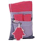 Minene 2086 Sitzschoner Set - für Kinderwagen und Autositz mit