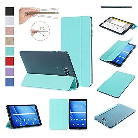 ISIN Tablet Fall Serie Premium PU-Leder Smart Shell Schutzhülle für