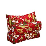 Cushion pillowXF Xufei Dreieck, Kissen, Matratze, Sofa, Büro, Zuhause, Gebraucht, Taille (Farbe : E, Größe : 45 * 50 * 22cm)