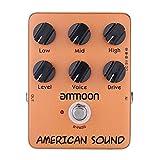 Ammoon ap-13Amerikanische Sound Simulator Verstärker-Pedal Gitarre Auswirkungen True Bypass