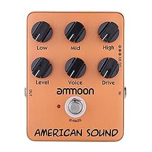 ammoon AP-13 Americano Suono Simulatore di Amplificatore Pedal Chitarra Effetti True Bypass