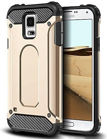 Samsung Galaxy S5 Hülle, Coolden® Outdoor Stossfest Amor Case Robust