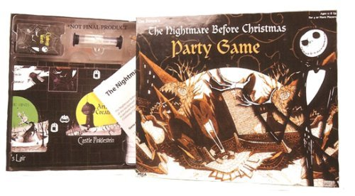 Neca Nightmare Before Christmas Board Game - Party Game by NECA