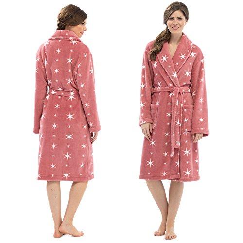Tom Franks - Robe de chambre - Femme Rose - Salmon Pink
