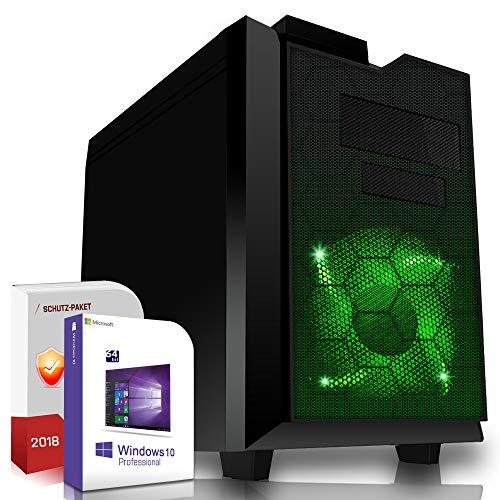 Multimedia Gaming PC AMD A10-7890K 4x4.1GHz  ASUS Board 8GB DDR3 500GB HDD Radeon R7 Series HDMI DVD-RW USB 3.0 SATA3 Sound Windows 10 Pro GigabitLan 3 Jahre Garantie Made in Germany Computer Desktop