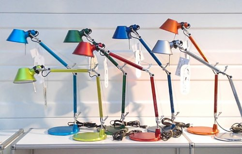 Tolomeo tavolo lampe de bureau mICRO/m. g. de lucchi &fassina artemide// plusieurs coloris disponibles