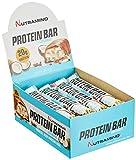 Nutramino Protein bar/Eiweiß Riegel (mit Kokosraspeln, 20g Eiweiß) Coconut, 1er Pack (16 x 66g)