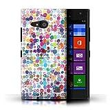 Stuff4 Hülle / Case für Nokia Lumia 735 / Bunte Punkte