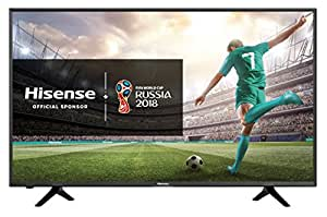 "Hisense H43N5308 TV LED Ultra HD 43"", Piattaforma SMART VIDAA, Sistema audio dbx-tv®, DVB-T2/S2 (HEVC)"