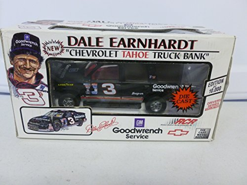 brookfield-collectors-guild-dale-earnhardt-1995-goodwrench-chevrolet-tahoe-truck-bank-124