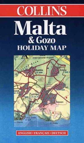 Carte touristique : Malta and Gozo (en anglais) par Cartes Collin's