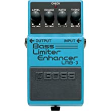 BOSS LmB-3 Bass Limiter/Enhancer Pedal, increased Bass Clarity and Presence