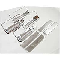 MaxMate 92-99 GMC Yukon/88-98 CK Pickup/88-98 Chevy C10 Pickup/92-95 S10/S10 Blazer/92-99 Chevy Suburban/95-99 Tahoe Chrome 4 Doors Handle Cover With Passenger Side Keyhole by MaxMate