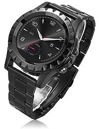 No. 1S2Wearables reloj inteligente, pantalla táctil/llamadas manos libres/control de los medios de comunicación/monitor de frecuencia cardíaca/Sleep tracter/podómetro
