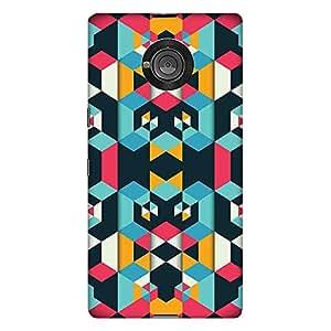 Bhishoom Designer Printed Hard Back Case Cover for YU Yuphoria - Premium Quality Ultra Slim & Tough Protective Mobile Phone Case & Cover
