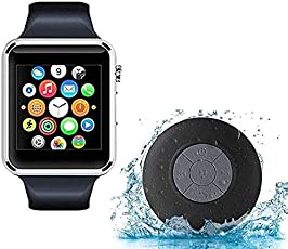 Tronomy A1 Bluetooth Smart Watch with Bluetooth Water Resistant Shower Speaker