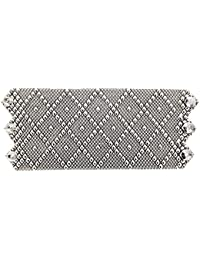 Bracciale in argento, stile antico-B11 come SG da Sergio Gutierrez Liquid Metal, 3 misure, SG, & panno per la pulizia incluso
