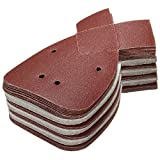 ChaRLes 40Pcs Aluminum Oxide Mouse Schleifblätter 120 Grit Für Black Und Decker Detail Palm Sander