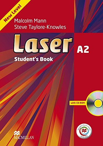 Laser 3rd Edition A2 Student's Book & CD-ROM with MPO by Steve Taylore-Knowles (2014-03-12)