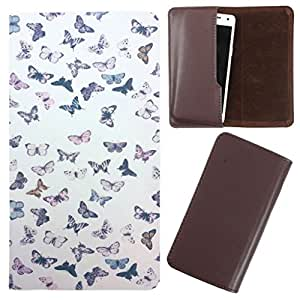 DooDa - For Videocon A55 HD PU Leather Designer Fashionable Fancy Case Cover Pouch With Smooth Inner Velvet
