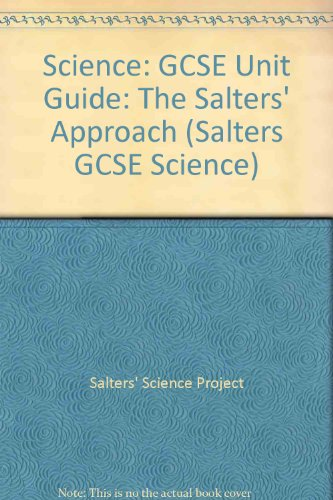 Science: The Salters' Approach: Staying Alive Unit Guide PDF Books