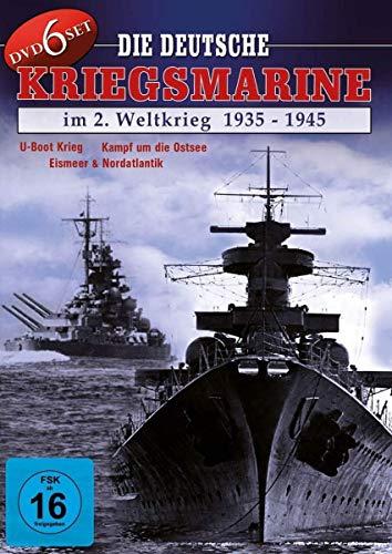 Die deutsche Kriegsmarine im 2. Weltkrieg 1935 - 1945 [6 DVDs]