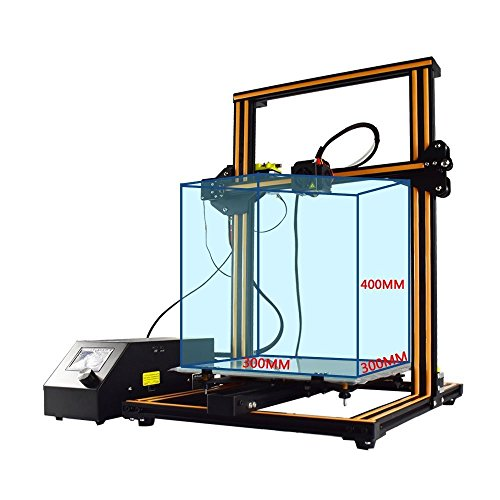 Bargain Creality CR-10 3D Printer Prusa I3 Half Assembled DIY Kit Review