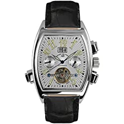 André Belfort Men's Royale Date Watch 410004 White