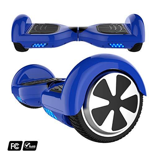 MARKBOARD 6,5zoll Hoverboard Elektro Scooter Selfbalance Scooter für Kinder, 700W Motor (6,5blau)