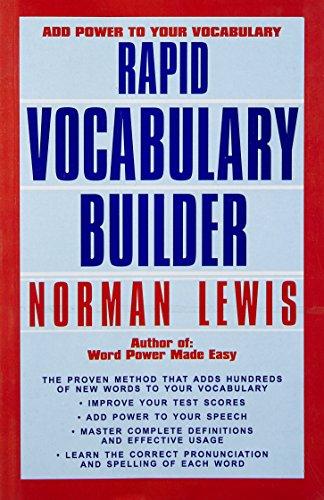 Rapid Vocabulary Builder Image
