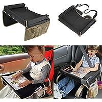 Impermeabile bambino seggiolino auto impermeabile di sicurezza per snack e Play vassoio tavolo portatile Kid Travel - Twin Cam Auto