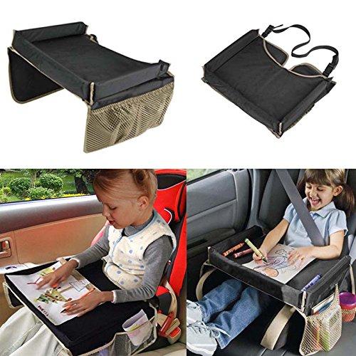 Preisvergleich Produktbild KEMAI Wasserdichter Baby-Kinder Autosicherheitssitz für Snacks, Spiel, Reise, erist Tablett, Zeichenbrett und Tisch.
