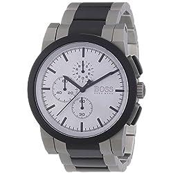 Hugo Boss Gents Watch Chronograph Quartz Stainless Steel XL NEO 1512959