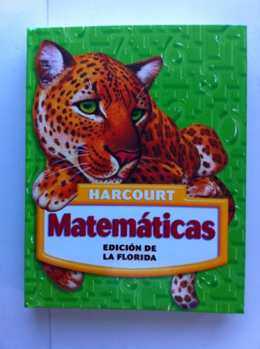 Matematicas, Grade 5: Harcourt School Publishers Matematicas Florida (Matematicas 05) por Hsp