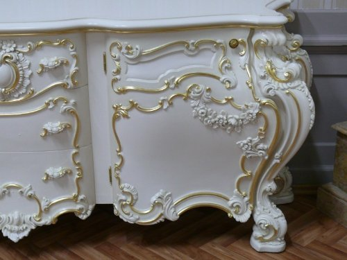 Barock Anrichte Antik Stil – Stil Sideboard Kommode VenetianBarock Rokoko Vp9976 - 2
