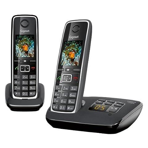 Gigaset C530A DUO Téléphone sans fil avec répondeur