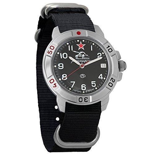 Vostok Komandirskie, orologio meccanico militare russo, 431306