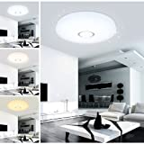 VINGO 16W LED Farbwechsel Esszimmer Deckenleuchte Modern Starlight Effekt Wand-Deckenleuchte Badezimmer geeignet