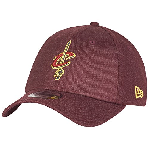 Casquette 39THIRTY Heather Team Cleveland Cavaliers bordeaux NEW ERA