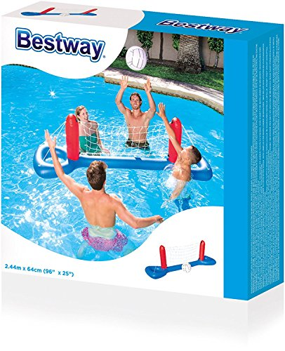 Bavaria Home Style Collection Pool Volleyball - Wasserball - Volleyball Set Netz + Ball -