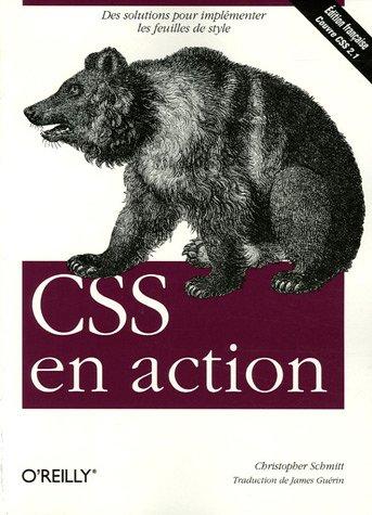 CSS en action par Christopher Schmitt