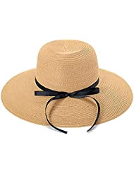 Sun hat Protection anti-UV pour les femmes Beach Wide Brim Big hat