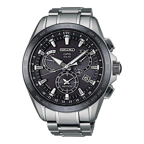 Seiko Herrenuhr Astron GPS Dual Time SSE045J1